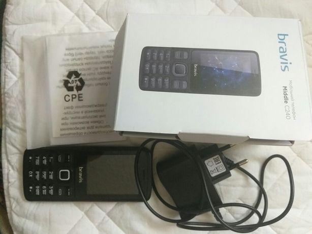 Срочно продам телефон bravis c240 на запчасти