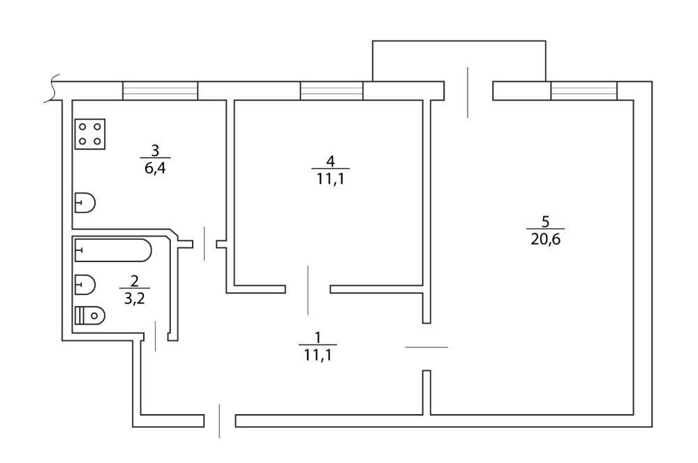 Купите 2х комнатную квартиру в Центре в р-не пл. Свободы с автономкой Херсон - изображение 1