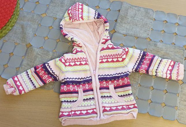 Sweterek na podszewce