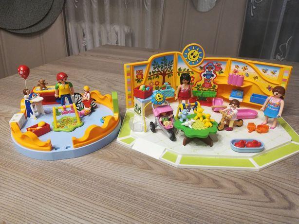 2 zestawy playmobil 9079 i 5570