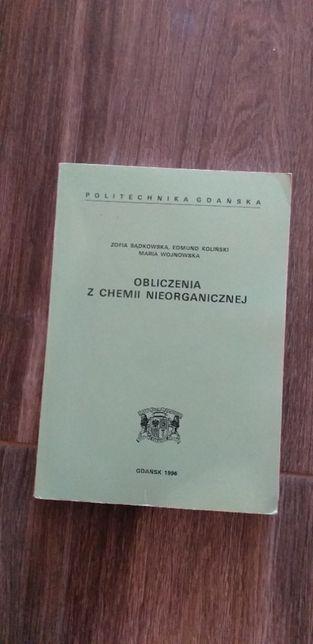 Obliczenia z chemii nieorganicznej Z. Bądkowska PG