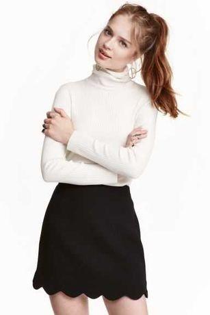 Czarna spódniczka ASOS roz 34 - cudowna :)