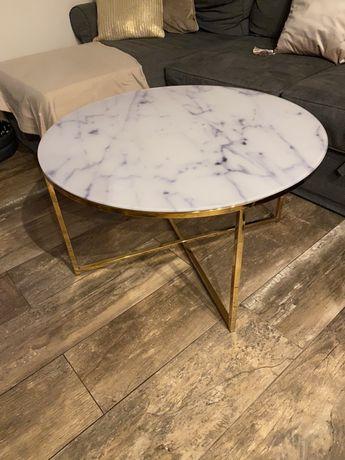 Stół marmurowy szkło