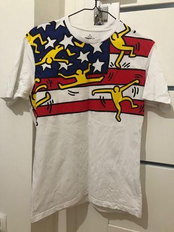 Koszulka męska Keith Haring M Uniqlo Streetwear USA T-shirt