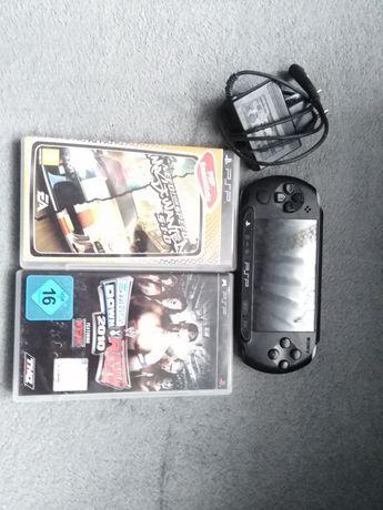 Konsola PSP Sony plus 3 gry