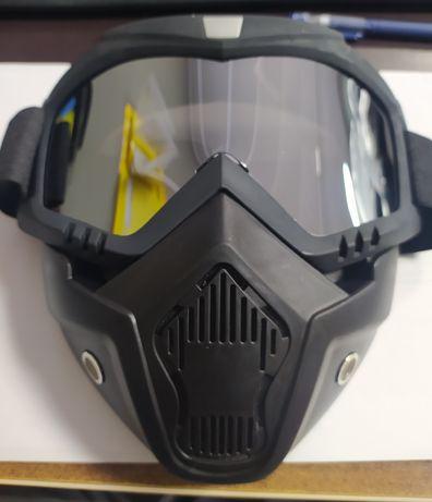 Маска,очки для мотоцикла,пейнтбола,лыж