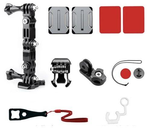 Akcesoria do GoPro - Zestaw Mocowanie KASK Motor Rower do GoPro 6 7 8
