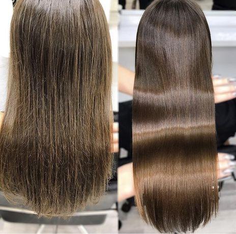 Кератиновое ,белковое восстановление волос, ботокс.Гарантия качества !