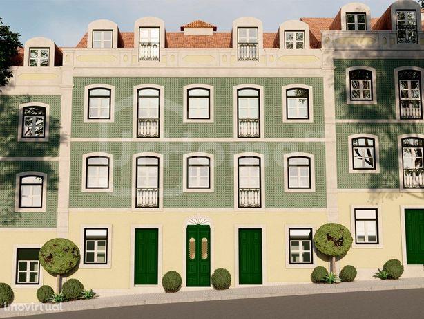 Apartamento de 1 quarto em Alcântara