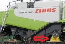 Станины (2 шт.) для транспортировки комбайнов CLAAS со снятыми колесам