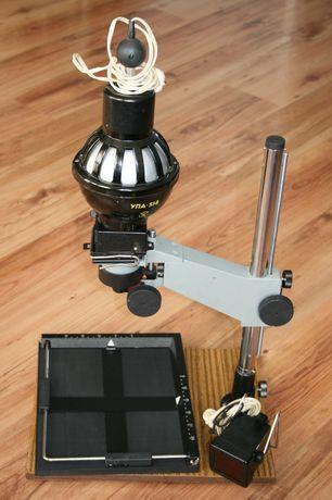 Powiększalnik foto w walizce z 1988 r