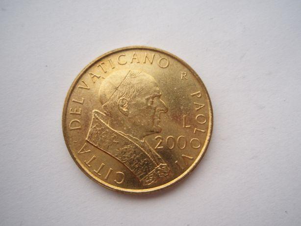 200 lirów 2001 Watykan, mennicze