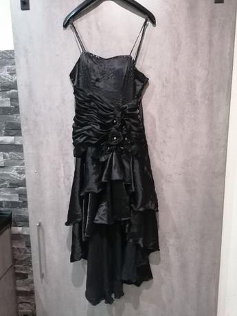 """Suknia balowa czarna w stylu """"gothic """""""