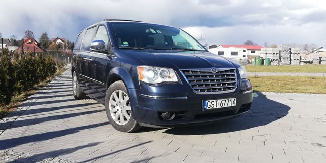 Chrysler Grand Voyager 2,8CRD pełna wersja, LIMITED, 3XDVD