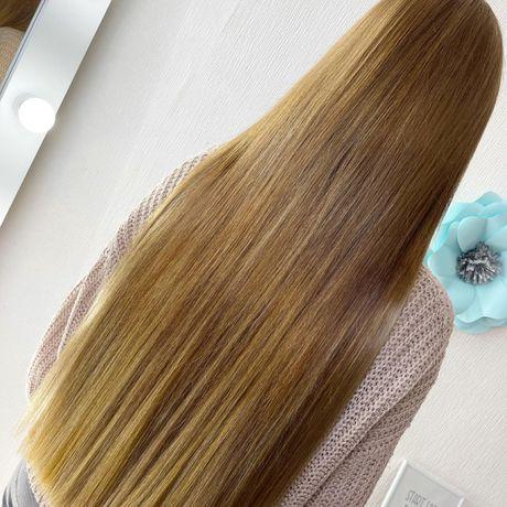 Наращивание волос 1500 грн(работа+материал)