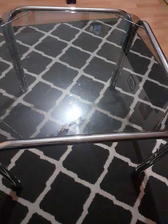 Stolik szklany kwadratowy