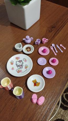 Детская посуда для кукол