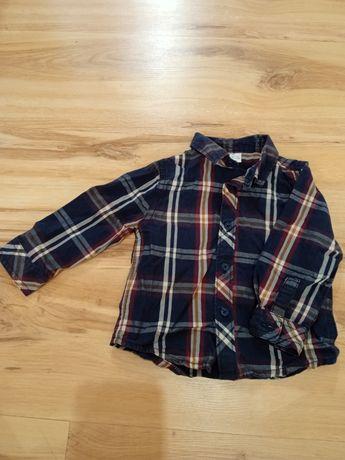Рубашка для мальчика размер указан 6-9 месяцев