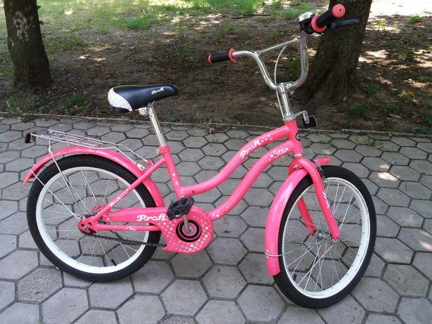 Велосипед Profi Princess 20''. Для девочки.