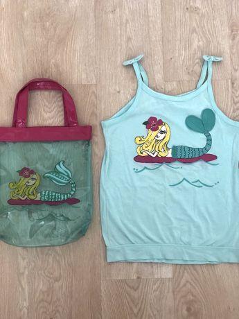 Crazy8 комплект сумка пляжная и майка/футболка