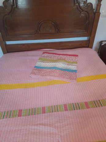 Manta cor de rosa