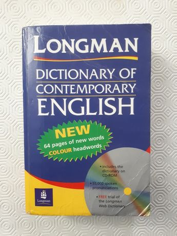 Dicionário de Inglês Longman - Dictionary of Contemporary English