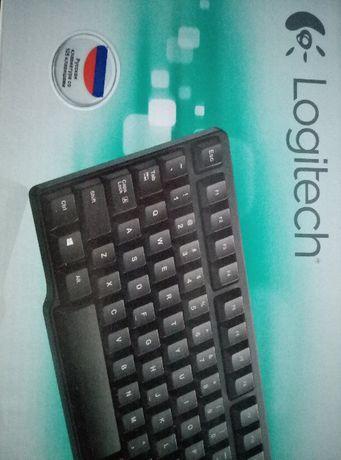 Клавіатура Logitech K100 PS/2 и К120 USB Black RUS