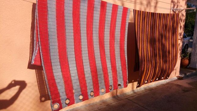 Vendo cortinas como novas e varios varões