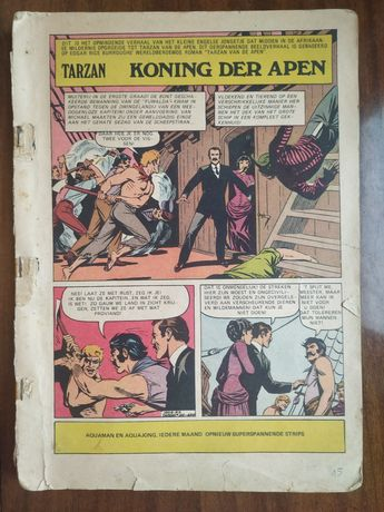 Komiks Tarzan Koning Der Apen