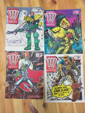 The Best of 2000AD Monthly 4 numery 89