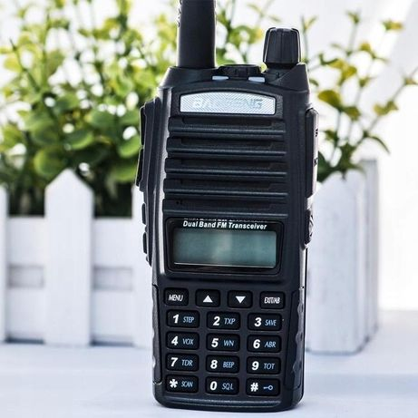 Baofeng Radiotelefon Krótkofalówka UV82 HT Q Odblokowany Straż,PKP..