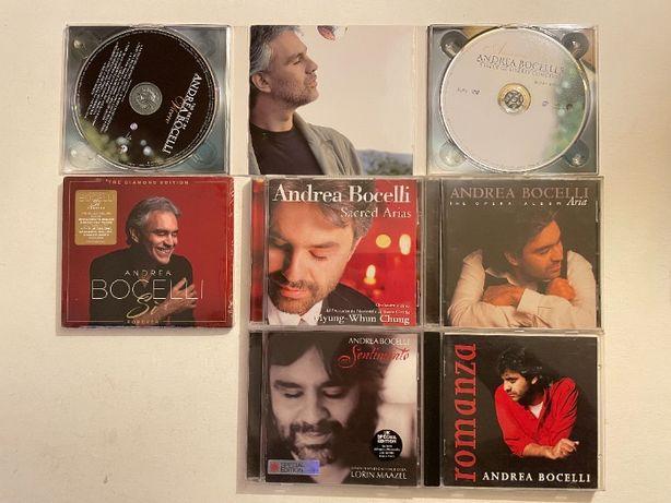 7 CD Musica Andrea Bocelli (3 versões especiais)