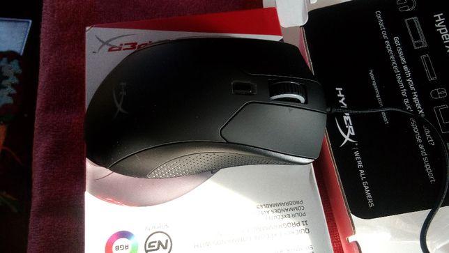 Kingston HyperX Pulsefire Raid мышь для ПК usb RGB 16000 dpi 11 кнопок