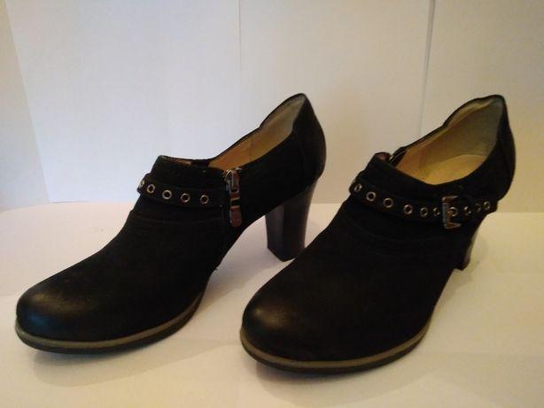 Туфли полуботинки новые кожаные женские РЕСПЕКТ (Россия)