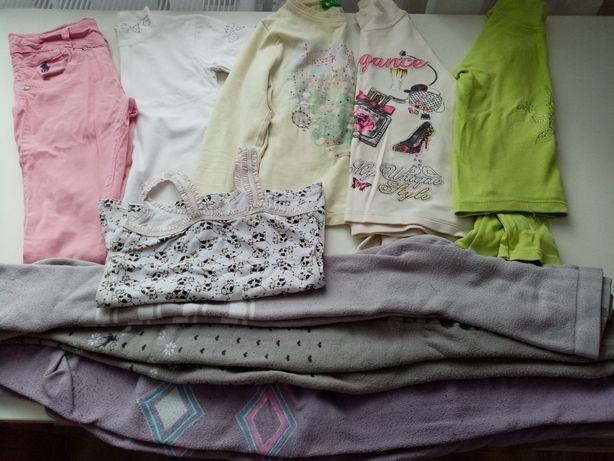 Продам пакет вещей на девочку 5-7лет(рост 122-128)