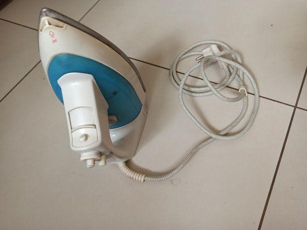Żelazko Tefal biało-niebieskie