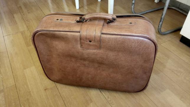 walizka skórzana