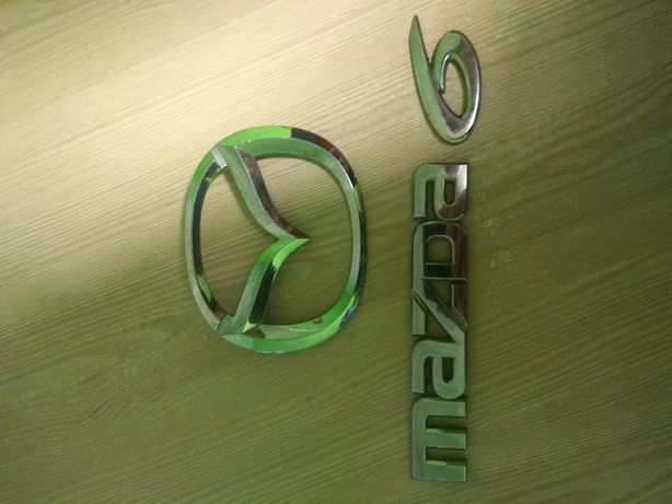 Mazda 6 значок,емблема.