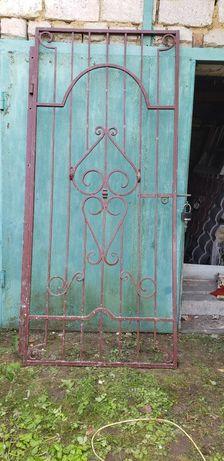 Ковані грати на двері, решетки на двери 2.25 × 98