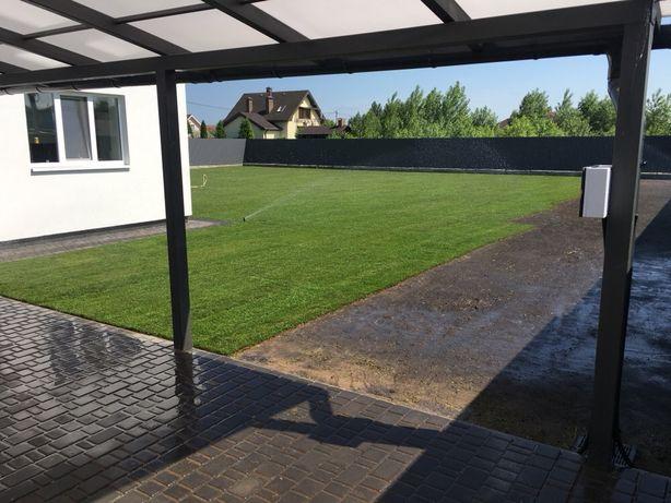 Авто полив рулонный газон