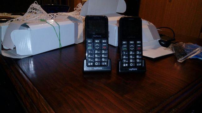 Sprzedam 2 telefony dla seniora