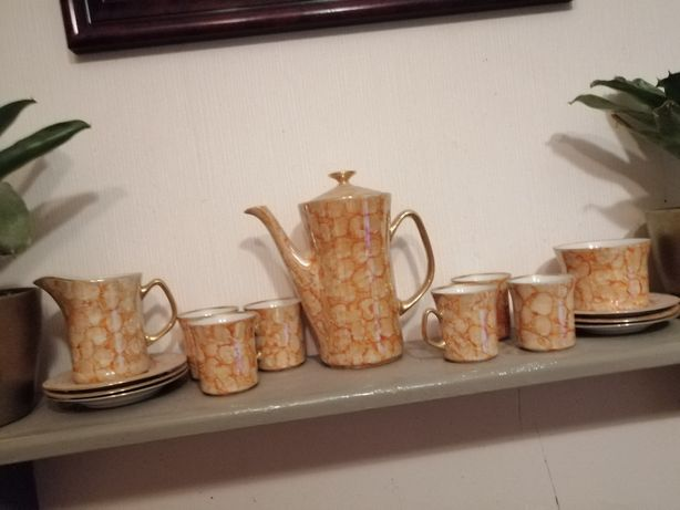 Komplet kawowy. Porcelana Włocławek