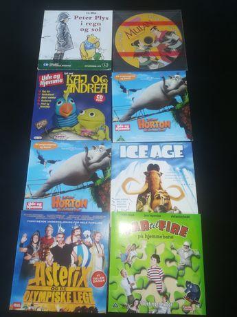 Zestaw bajek DVD w języku duńskim