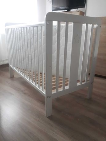 Łóżeczko Woodies z materacem