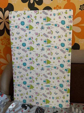 Продам детский матрас на пеленальный столик в отличном состоянии