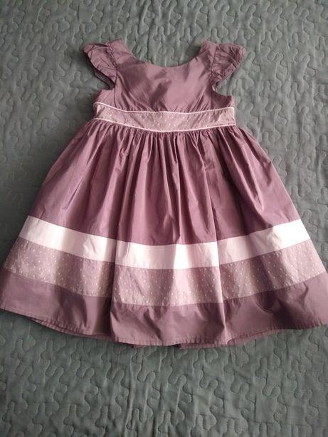Śliczna sukieneczka roz.80/86