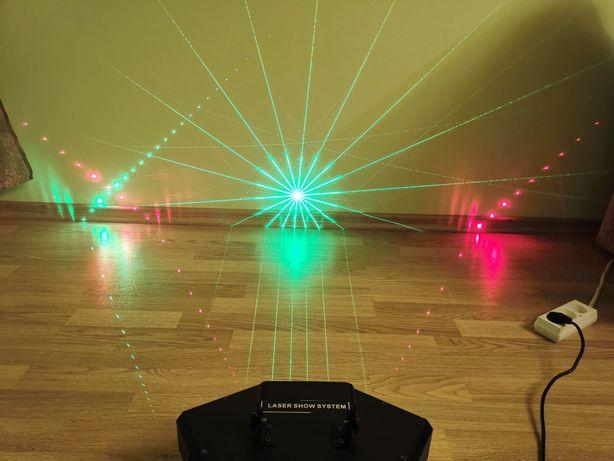 Laser show RGB DMX512