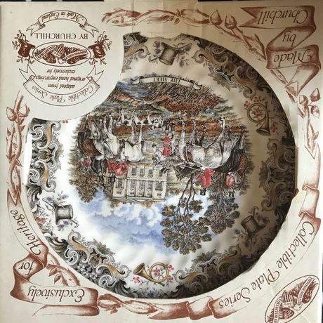 Коллекционная тарелка by churchill на подарок
