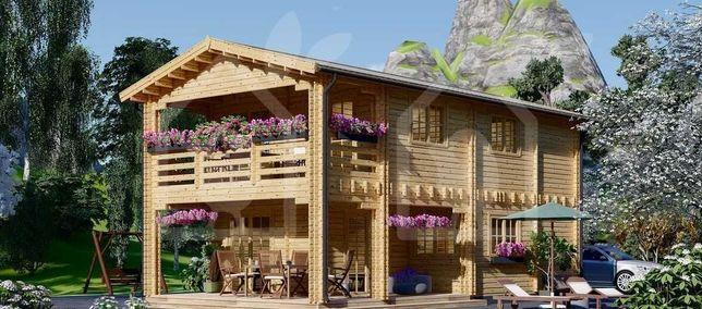 Casa de Madeira ABC 820 - T3, Pré-fabricada 132m2