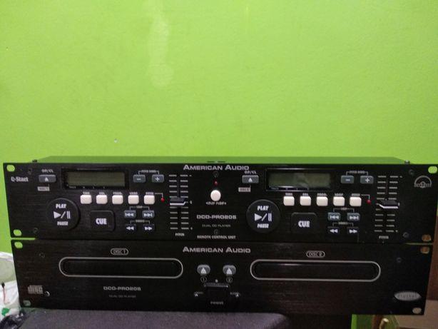 American Audio ,podwójne odtwarzacze CD,CD playery